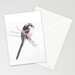 Tailed tit Stationery Cards
