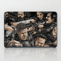 sons of anarchy iPad Cases featuring Sons of Anarchy-War by Denis O'Sullivan