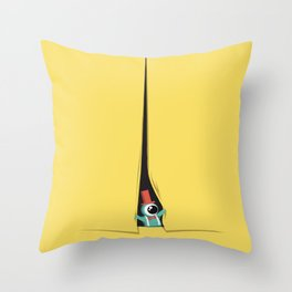 Peek show! Throw Pillow