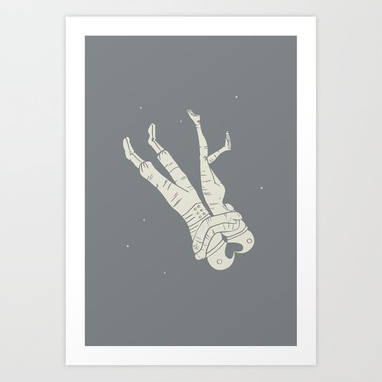 Head Over Heels Art Print