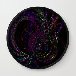 Alive (first step from the dark) Wall Clock