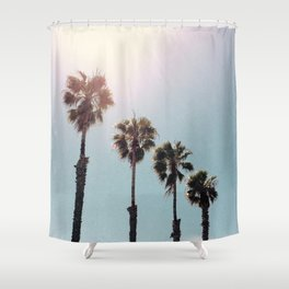 Four Palms Shower Curtain
