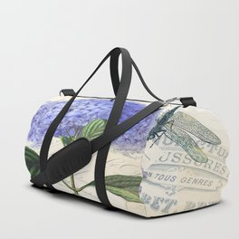 Vintage Collage Duffle Bag