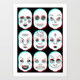 Pediophobia Art Print