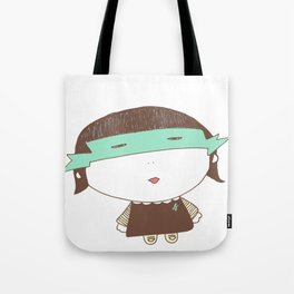 Girl Super Chocolate Love Tote Bag