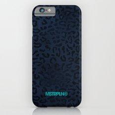 Modern Woodgrain Camouflage / Zaire KDP Print Purple Slim Case iPhone 6