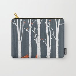 Fox running in the forest Carry-All Pouch