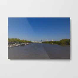 The River Thames, London Metal Print
