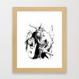 Falconer Framed Art Print