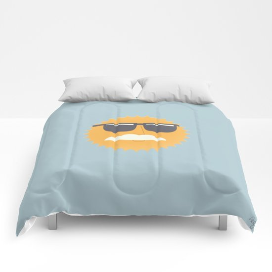 Sun Disguised Comforters