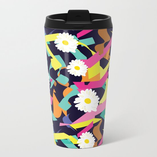 Daisy Expo Metal Travel Mug