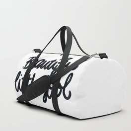 Beautiful little fool - hand script Duffle Bag