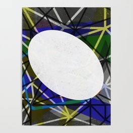 White Noise - Abstract Art Poster