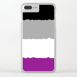 Ace/Demi Pride Clear iPhone Case
