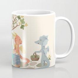 Dragon Tea Party Coffee Mug