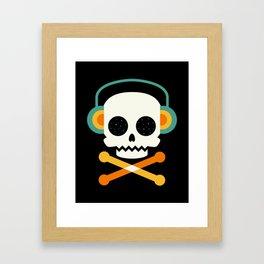 Life is cool Framed Art Print