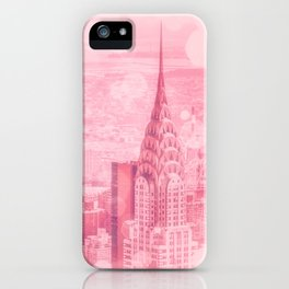 Pink and Bubbly New York City iPhone Case