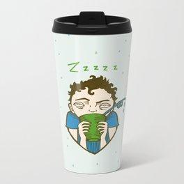 Zzzzz Metal Travel Mug