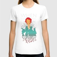 transistor T-shirts featuring When everything changes, nothing changes. by Agustindesigner