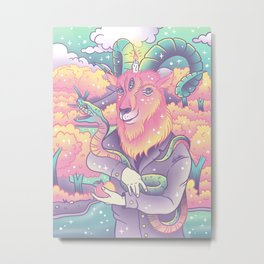 Live Deliciously! Metal Print