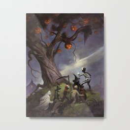The Halloween Tree Metal Print