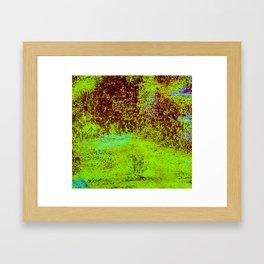 Splashed Rain Framed Art Print