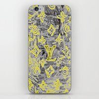 lv iPhone & iPod Skins featuring LV NEONIZED by JANUARY FROST