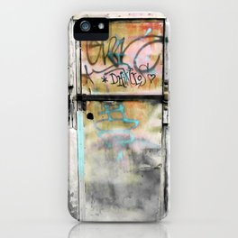 One Door at Plaka-Athens iPhone Case