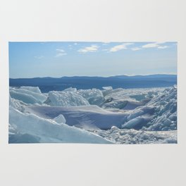 Pressure Ridges of Ice Lake Rug