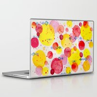 60s Laptop & iPad Skins featuring Party 60s by Gabrielle LR illustration