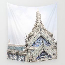 Painted Tiles in the Grand Palace Wall Tapestry