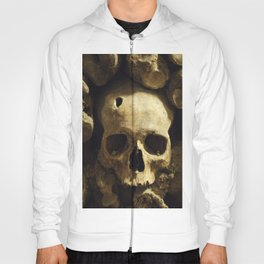 Skull From Catacombs in Paris Hoody