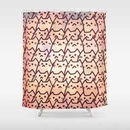 cats 119 Shower Curtain