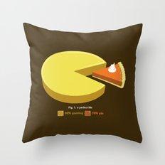 A Perfect Life Throw Pillow