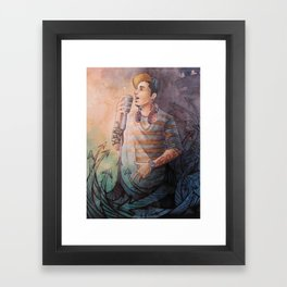 Poetry in Motion Framed Art Print