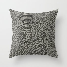 Eyedrops  Throw Pillow