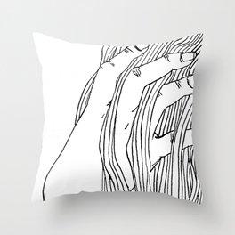 Creating... Throw Pillow