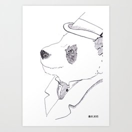 Mr. Bombadere Art Print