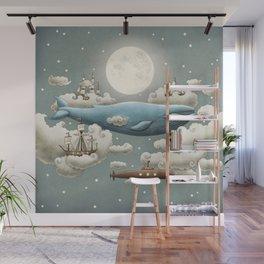 Ocean Meets Sky Wall Mural