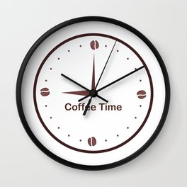 It is the Coffee time - I love Coffee Wall Clock