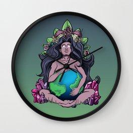 Mother Ayahuasca Wall Clock