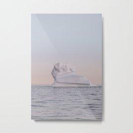 Ice Flow 46 Metal Print