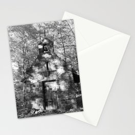 The church on the grounds Stationery Cards