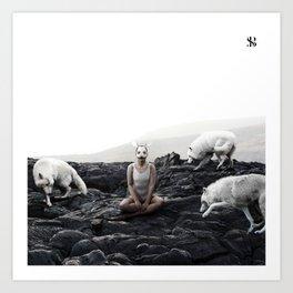 The White Sky VII Art Print