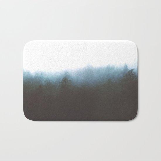 Blue Ghost Bath Mat