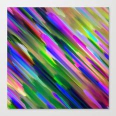 Colorful digital art splashing G487 Canvas Print
