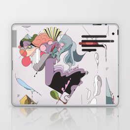 Cover for an imaginary magazine Laptop & iPad Skin