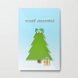 Christmas motif No 3 Metal Print