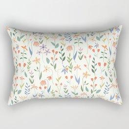 Wildflowers in the Air Light Rectangular Pillow