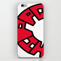 hippo iPhone & iPod Skins featuring Hippo by JDHicks